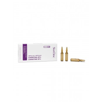 Ampollas Carnitina 20% 5ml.