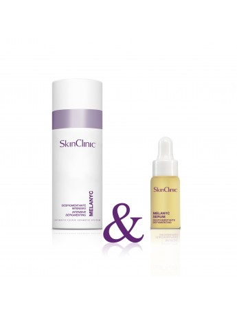 Crema despigmentante intensiva para manchas faciales y corporales.