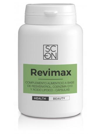 Complemento alimenticio a base de Resveratrol, Coenzima Q10 y Ácido Alfa Lipoico.