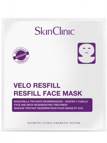 Mascarilla regeneradora y antiarrugas para rostro y cuello.